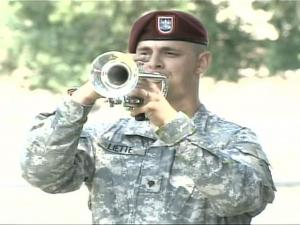 The paratroopers of Fort Bragg held a memorial service for soldiers killed in service to their country.