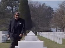 David Crabtree Visits Normandy Beaches