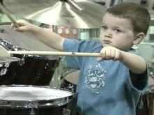 Little Drummer Boy Astounds His Parents