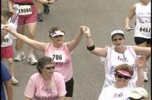 Race for the Cure Runners and Walkers Support Research