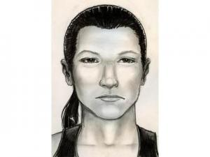 Police are trying to identify the person depicted in this composite sketch for questioning in the slaying of Jenna Nielsen.