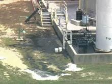 Crews Cleaning Up Acid Spill