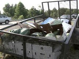 Some motorists on Interstate 40 had to dodge watermelons during their morning commute.