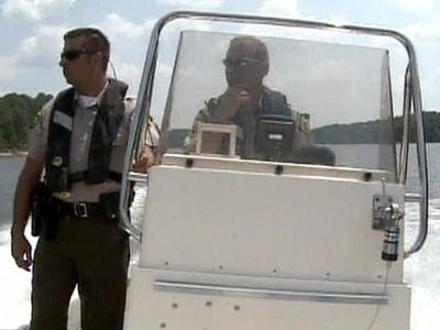 Wake County Sheriff's deputies and North Carolina Wildlife Enforcement officers patrol Falls Lake for people operating watercraft while impaired as well as other watercraft violations and underage drinkers.