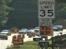 Sensors Track Speeders in Cary