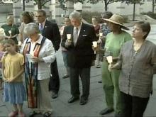 Dozens Attend Vigil For Murdered Pregnant Woman