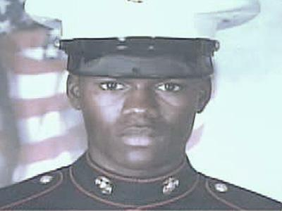 Sgt. Courtney Johnson, 26, of Raleigh, was killed in Besmaya, Iraq, when his unit came under fire on July 11, 2007. He had served earlier in the U.S. Marine Corps. (Johnson family photo)