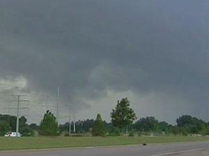 Severe thunderstorms pounded Wake County, causing fires and traffic accidents Tuesday night.