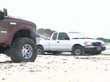 Seashore Officials Working on Plan for Beach Driving