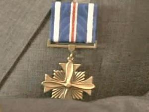 WWII Airman Honored for Courage