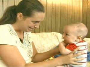 A Fort Brgg worker who breast-fed her infant in public found that the practice, although legal, can prompt controversy.