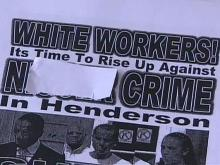 Racist Fliers Sent to Henderson Residents