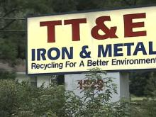 Scrap Metal Plant Helps Police Catch Thieves