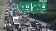 IMAGE: Interstate 40 lanes reduced this weekend