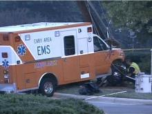 Ambulance Wreck Knocks Out Power, Intersection