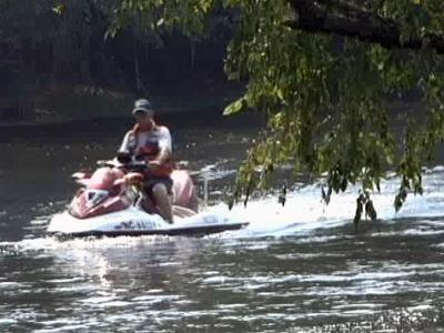Rescuers searched by air and by water Thursday for a Virginia teenager who went missing in the Roanoke River Wednesday.