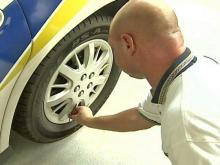 Garner Police Pump Nitrogen into Tires