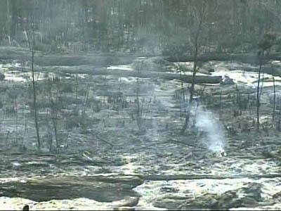 The sweltering heat and dry conditions across North Carolina combined to fan 84 wildfires over the weekend, authorities said on Monday, Aug. 20, 2007.