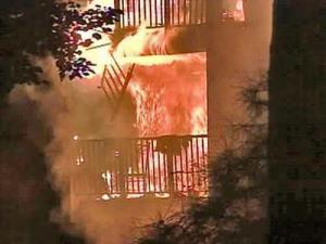 Volunteer, Red Cross and city Spanish translators provided critical help after a fire burned through two apartment buildings in north Raleigh early Monday morning.