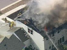 Sky 5 Coverage of Rolesville House Fires