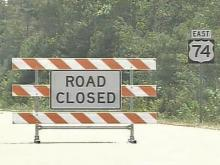 Robeson Wildfires Force Highway Closure