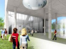 Artist Renderings of Fayetteville Art Museum