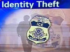 Identity theft graphic