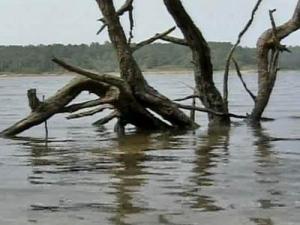 Low Lake Levels Pose Boating Hazard