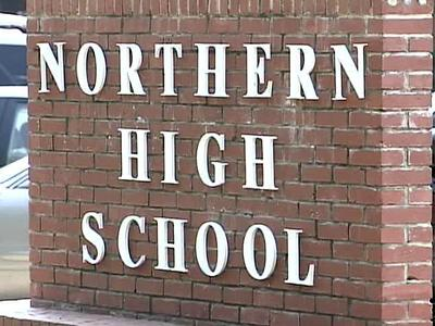One student was injured Monday morning when several fights broke out outside Northern High School, authorities said.