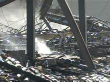 A fixture in the Dunn community is no more after flames tore through the flea market early Tuesday morning.