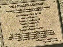 Garden Dedicated to UNC Victims of 9/11