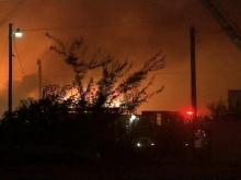 Fire Destroys Dunn Flea Market