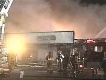 A Sept. 13 fire at a Spring Lake shopping center destroyed a carpet store.