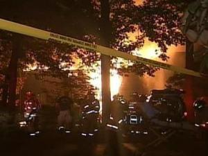 Crews were on the scene of an apartment fire on Trillium Circle in Raleigh Sunday night, according to emergency officials.