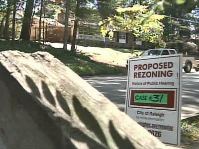 Rezoning Battle Could Affect Raleigh Neighborhoods