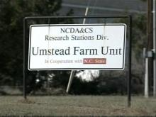 Umstead Research Farm near Butner is a proposed site for the new National Bio and Agro-Defense Facility.