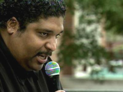 The Rev. William Barber, president of the state chapter of the National Association for the Advancement of Colored People, addressed the Raleigh crowd.