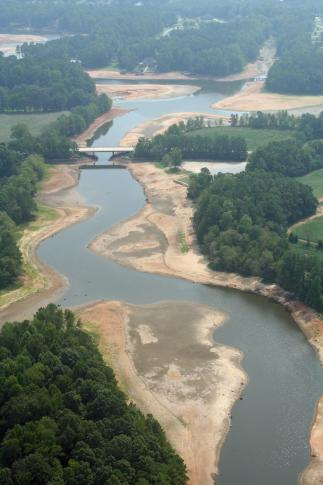 Rocky Mount has implemented mandatory water-use restrictions, because levels in the Tar River Reservoir,  the city's primary water source, have continued to drop. Water levels are 15 feet below the top of the dam.