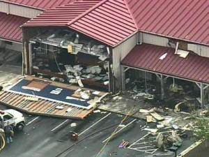 McCall's BBQ and Seafood was heavily damaged on Sept. 21, 2007, when a plane crashed into the restaurant.