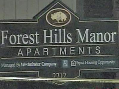 A fire hit the Forest Hills Manor apartments in Wilson Friday night, damaging nine units.