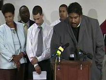 WEB EXCLUSIVE: James Johnson, Supporters Give Press Conference