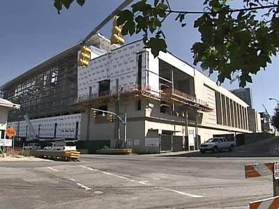 Raleigh Convention Center under construction