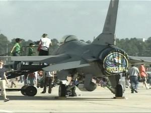 Saturday's Pope Air Force Base Air Show drew big crowds.