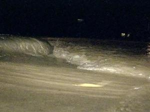 Thousands of gallons of water were lost early Wednesday morning after a main break in Knightdale.