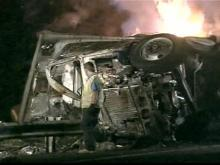 Driver Killed in Fiery Tractor-Trailer Accident