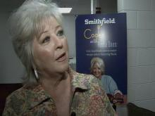Web only: Paula Deen with Ken Smith at the State Fair