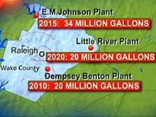 Projects planned to increase water production in Wake County.