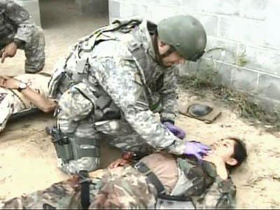 Special Ops Medics Get Specialized Training