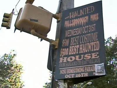 N.C. State Tries to Scare Up Halloween Fest