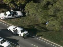 WEB ONLY: Sky 5 Video of Durham Shooting Scene
